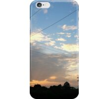 Sunset in the Countryside iPhone Case/Skin