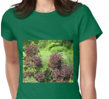 Shrubs with Copper Coloured Leaves - Hyde Hall, Essex Womens Fitted T-Shirt
