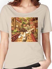 Haku and Chihiro Women's Relaxed Fit T-Shirt