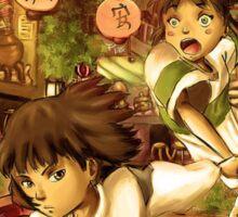 Haku and Chihiro Sticker