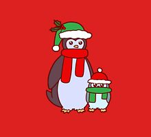 Mama and Baby Christmas Penguins T-Shirt