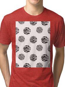 Zebra dots Tri-blend T-Shirt