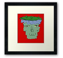 Plants in a Zombie Framed Print