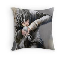N, Death Note  Throw Pillow