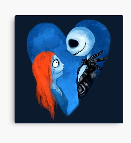 Sally and Jack Canvas Print