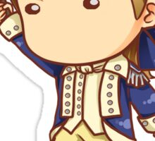 Benjamin Tallmadge Chibi Sticker