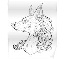 Dog Girl Poster