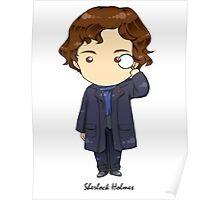 Sherlock Holmes Chibi Poster