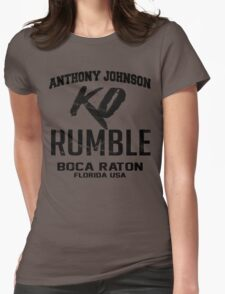 Anthony Johnson Established [FIGHT CAMP] Womens Fitted T-Shirt