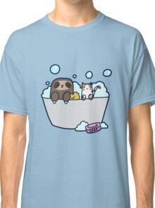 Sloth Kitty Bath Classic T-Shirt