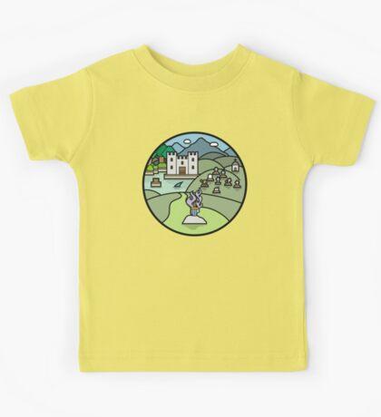 Fantasy landscape Kids Tee
