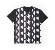 Punk Typing Graphic T-Shirt