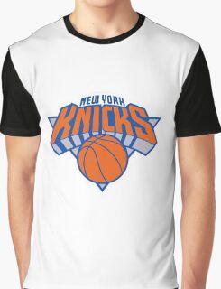logo newyork knicks ball Graphic T-Shirt