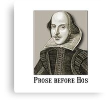 Shakespeare Hos Canvas Print