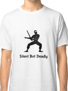 Silent Deadly Ninja Classic T-Shirt