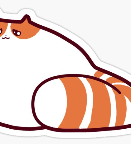 Exotic Shorthair Kitty Sticker