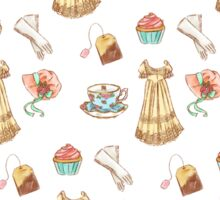 Regency Pattern Watercolor Sticker