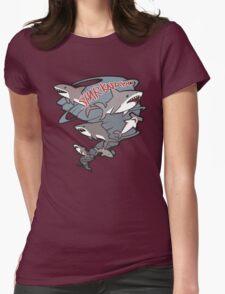 Cute Sharknado Womens Fitted T-Shirt