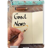 Good News iPad Case/Skin