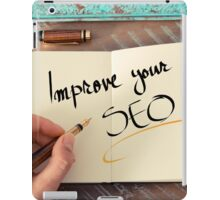 Improve Your SEO iPad Case/Skin