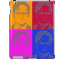 Ascii Dwight - Color iPad Case/Skin