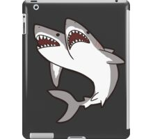 2-Headed Shark iPad Case/Skin
