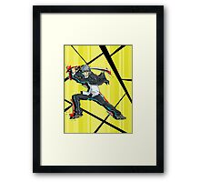 its yu Framed Print