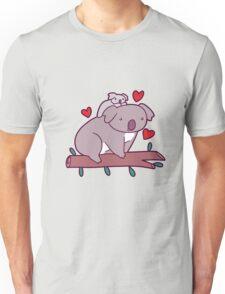 Kawaii Mama and Baby Koala Unisex T-Shirt