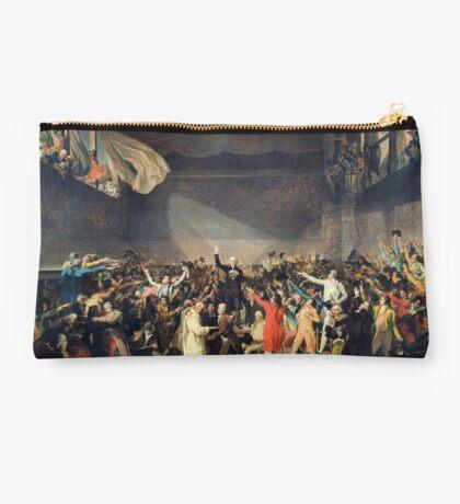 Tennis Court Oath -  Jacques Louis David - French Revolution - 1794 Studio Pouch