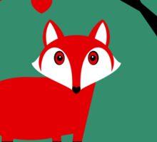 TREE AND FOX Sticker