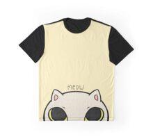 Meow - yellow Graphic T-Shirt