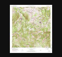 USGS TOPO Map Puerto Rico PR Ciales 362089 1957 20000 Unisex T-Shirt