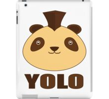 Yolo panda iPad Case/Skin