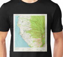 USGS TOPO Map Hawaii HI Lahaina 349515 1956 24000 Unisex T-Shirt