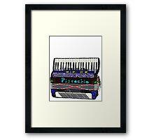 Pistachio Accordion Framed Print