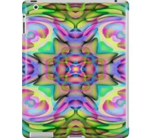 abstract assemblage of pixels iPad Case/Skin