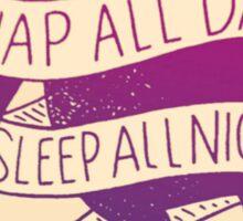 Rush Kappa Delta Sloth Sticker