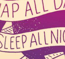 Rush Kappa Alpha Theta Sloth Sticker