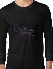 Witches Spell Crafting Challenge of Salem  Long Sleeve T-Shirt