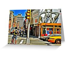 New York City Glimpse Greeting Card