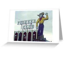 Las Vegas 1980 Greeting Card