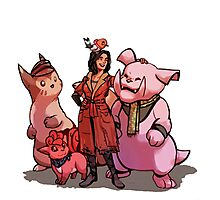 Fallout 4 X Pokémon - Piper (Limited Edition - ONE DAY LEFT) Photographic Print