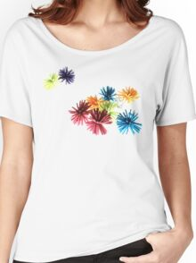 Spongey Color Fun  Women's Relaxed Fit T-Shirt