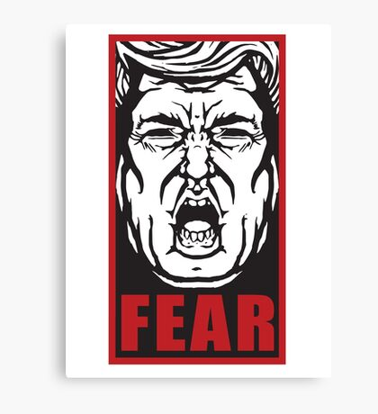Fear the Trump Canvas Print