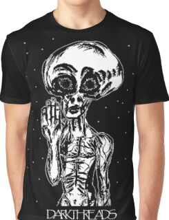 COSMIC VISITOR Graphic T-Shirt