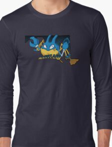 Maryland Blue Krabbys Long Sleeve T-Shirt