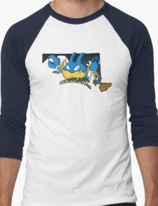 Maryland Blue Krabbys Men's Baseball ¾ T-Shirt