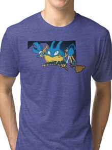 Maryland Blue Krabbys Tri-blend T-Shirt