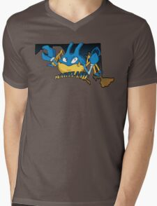 Maryland Blue Krabbys Mens V-Neck T-Shirt