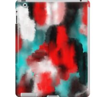 Back To Back - Abstract Painting iPad Case/Skin